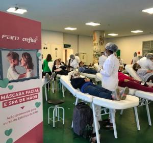 Post Alunos de Estética e Cosmética Participaram do Dia das Mães no Clube Social do Palmeiras