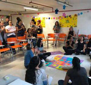 """Post Semana da Educação – """"Samba, Suor e Saber"""""""