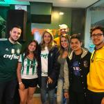 Turma de Medicina Marca Presença em Jogo do Palmeiras, no Camarote Exclusivo da FAM