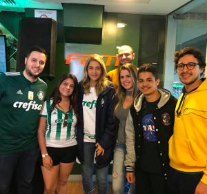 Post Turma de Medicina Marca Presença em Jogo do Palmeiras, no Camarote Exclusivo da FAM