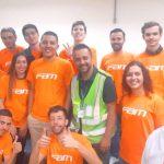 Visita dos alunos de comércio exterior da FAM no aeroporto internacional de guarulhos