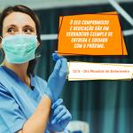 Parabéns aos Profissionais de Enfermagem!