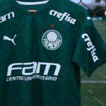 No Jogo de Hoje do Palmeiras contra o Vasco a FAM será a Patrocinadora Master!