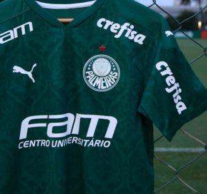 Post No Jogo de Hoje do Palmeiras contra o Vasco a FAM será a Patrocinadora Master!