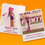 Aluna Ariana foi aprovada na Faculdade de Ciências Médicas da Santa Casa!